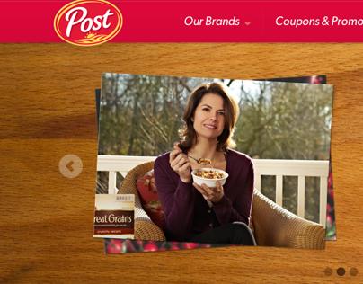 Post Foods Website Redesign