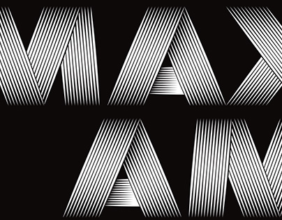 Maxam font