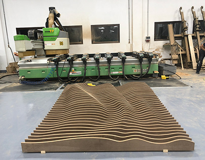 Wall Decor - CNC Cut Parametric Wall