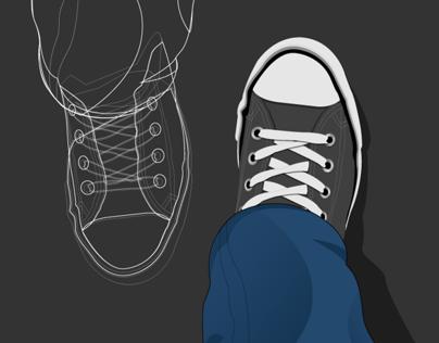 Vector: My Converse!