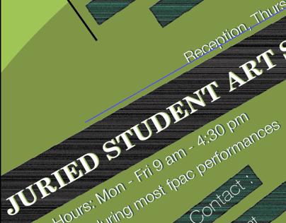 Juried Student Art Show 2014