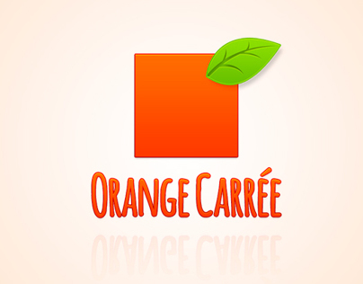 Logo   Orange Carrée