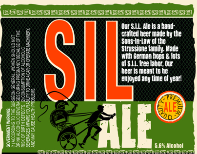 Beer Labels for SIL Ale