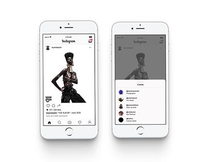 App Design: Concepts for Instagram