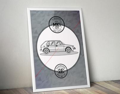 Tribute to VW GOLF MK1 GTI