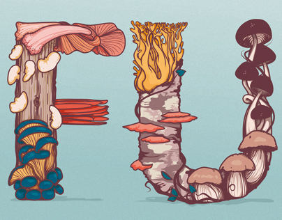 Fungi Lettering