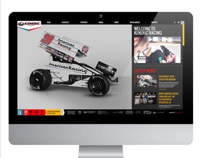 Keneric Racing webdevelopment
