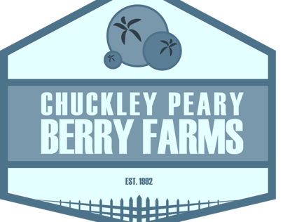 Chuckley Peary Berry Farms Corporate Identity