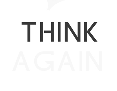 Think Again Conclave - Apogee 2014