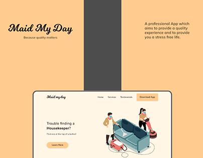 Web Presentation- Maid My Day