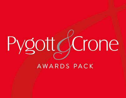 Pygott & Crone Awards Pack