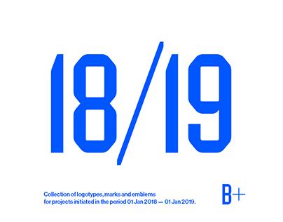 Logotypes & Marks 2018 — 2019