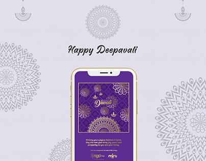 NGC deepavali festive design