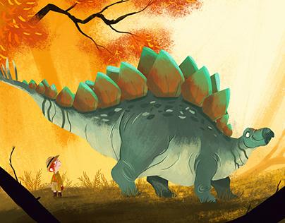 When i meet a dinosaur #2