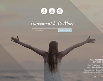 IEPS FLERON - Landing Page KineDevillers