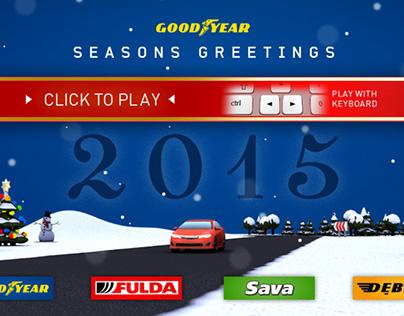 Goodyear Snowdriver browsergame