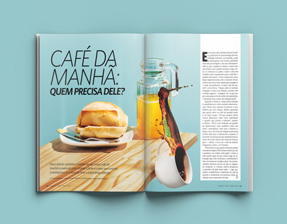 """Revista Saúde - """"Café da manhã: quem precisa dele?"""""""