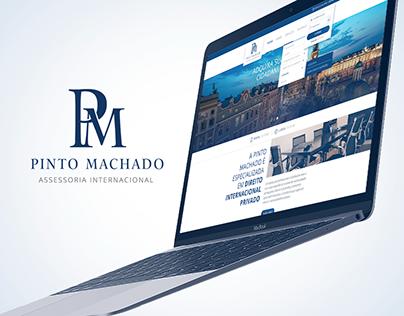 Pinto Machado   Website + Identidade Visual