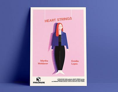 """""""Heart Strings"""" Film Poster"""