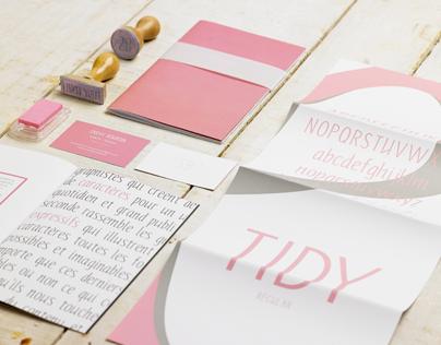 TYPOGRAPHIE / TIDY FONT