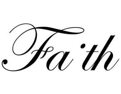Faith Typogram