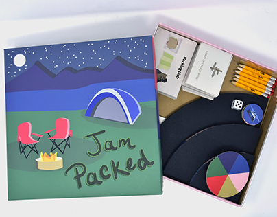Jam Packed - Board Game Design