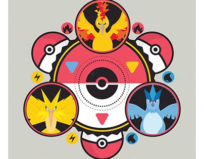 'Pokemon Master Trainer' Poster Illustration