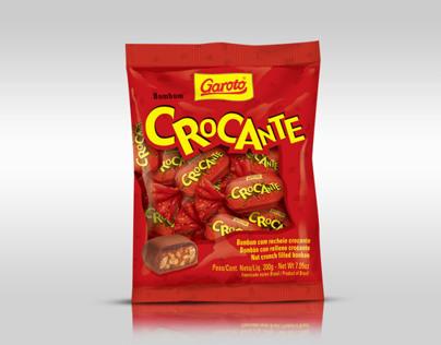 Embalagem Bombom Crocante Garoto