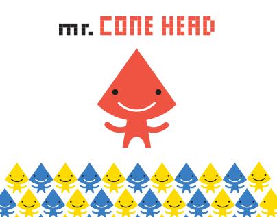 Mr. Cone head