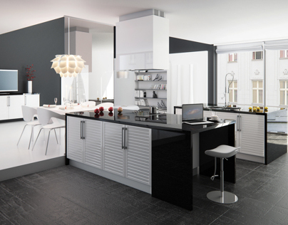 Louver Kitchen