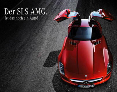 SLS AMG Banner