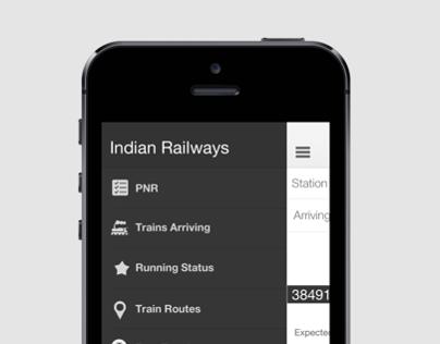 IRCTE mobile app redesign