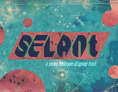 Selant - Free Font