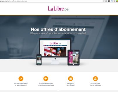 Offres D'abonnements - LaLibre.be