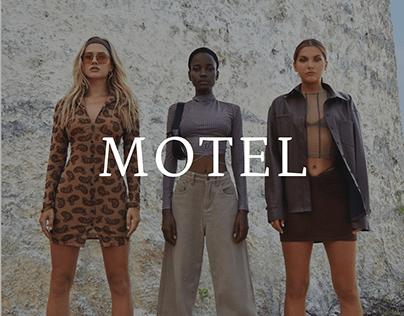 Motel e-store redesign