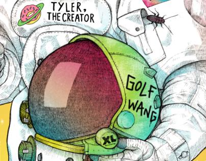 Tyler, The Moonman