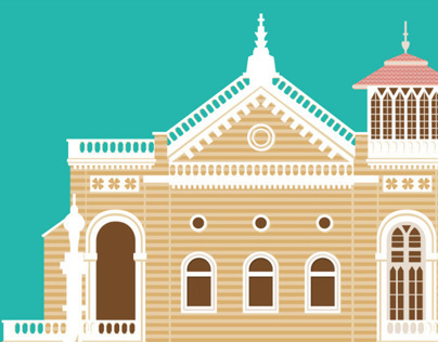 Aga Khan Palace - Illustration