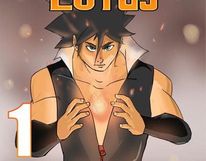 Flaming Lotus Manga series