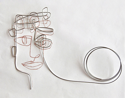 Ashkal | Wire Portraits