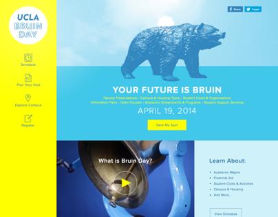 UCLA Bruin Day 2014
