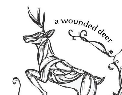 A wounded deer leaps the highest