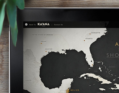 Belize Interactive Map for Ka'ana Boutique Resort