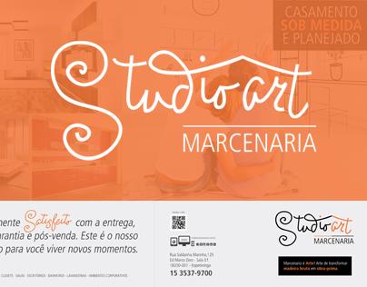 Anuncio Revista Página Dupla - Studio Art Marcenaria