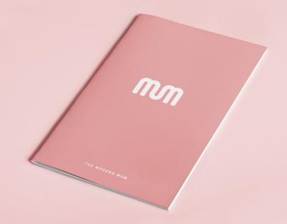 Mums Report - Print Design