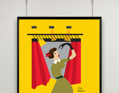 World Theatre Day Poster