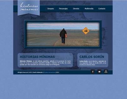 Diseño Web / Historias Mínimas / Film