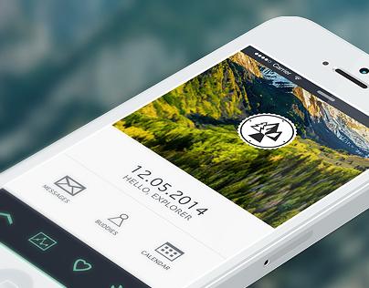 Design for Trailmap app