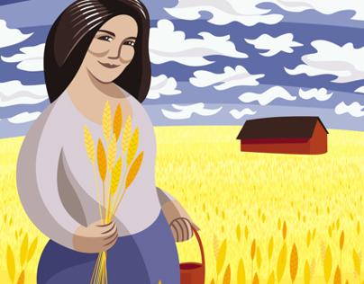 In the Ukranian Wheat Fields