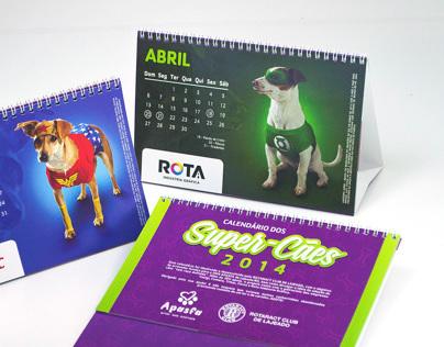 Calendário Rotaract / Apasfa 2014