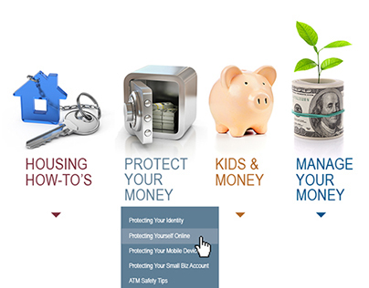 American Bankers Association Consumer Page redesign